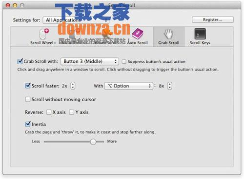 Smart Scroll for mac