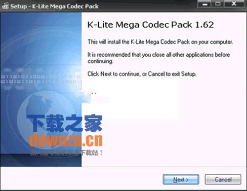 K-Lite Codec Pack Update(影音解码器)截图