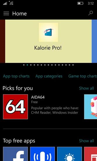 Win10 Mobile预览版10162截图曝光