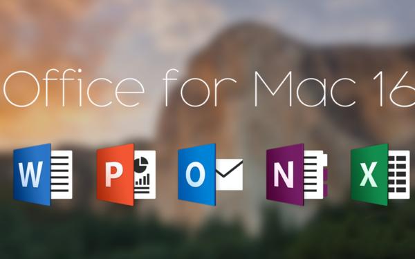 Mac版Office2016正式发布 Windows版也不远了