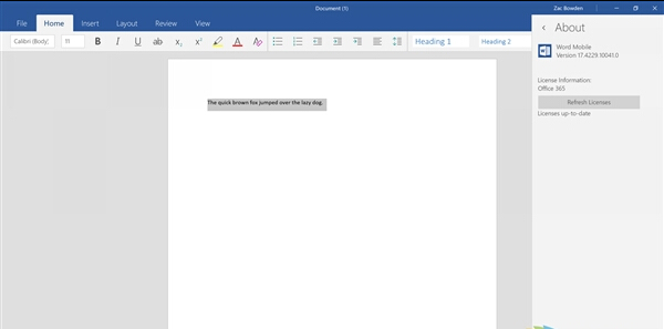 Windows 10移动版发布更新:界面更美了